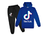 Kids Tik Tok Hoodie Pants Suit Girls Long Sleeve Tracksuit Sportswear Set UK