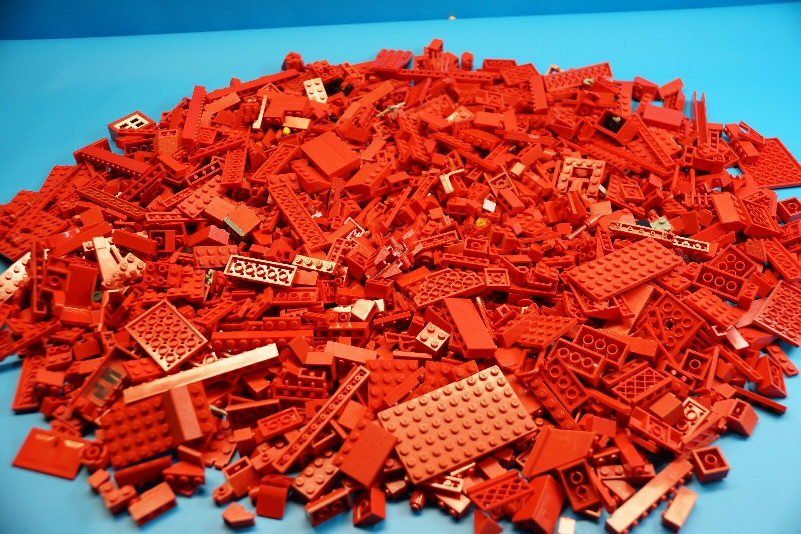 LEGO 1,7 Kg rot Bausteine   Formsteine - Sondersteine usw.  (J762