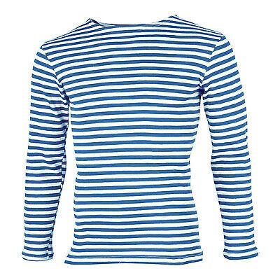 Russian Sleeveless Maroon Striped T-Shirt Splav