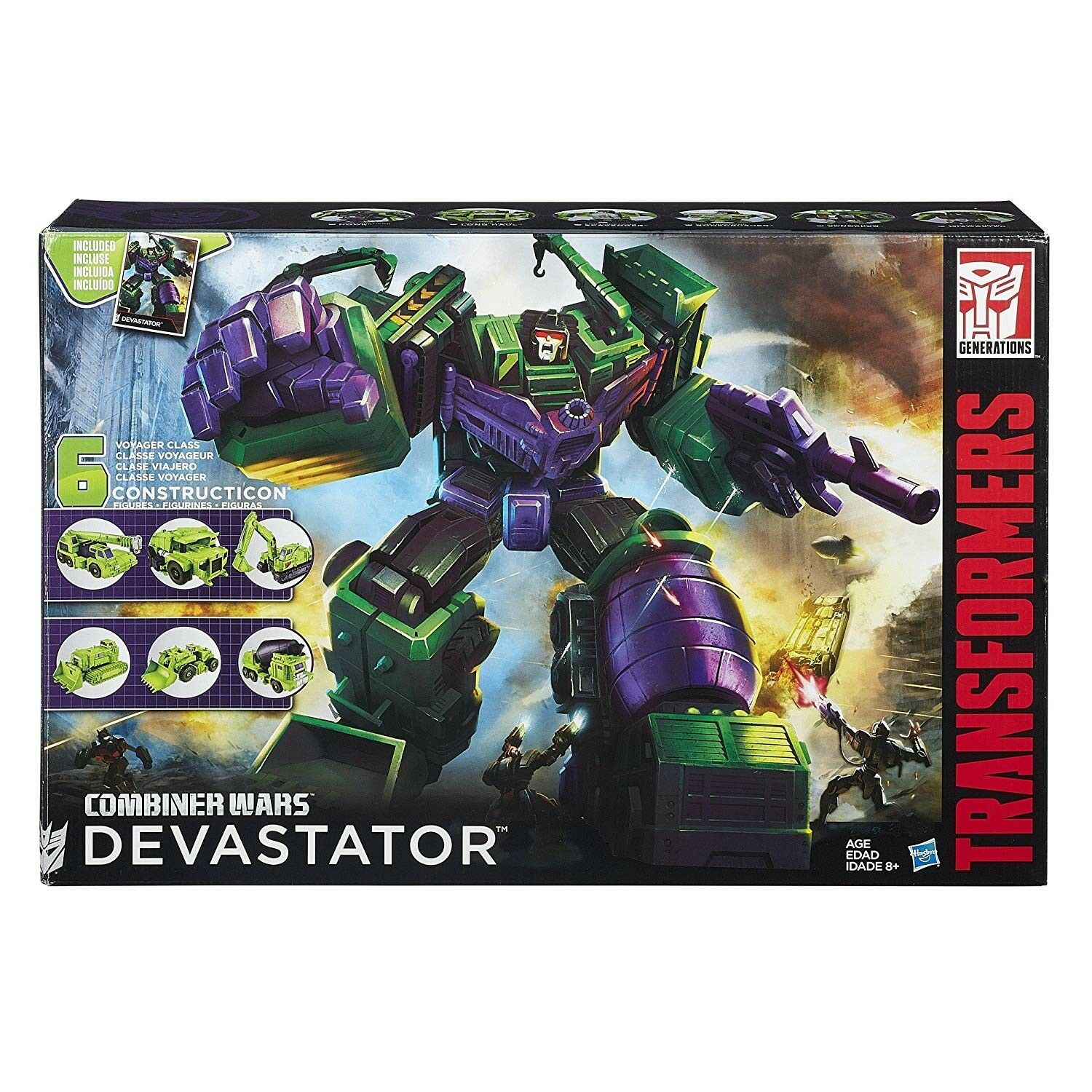 Hasbro Transformers Generations Combiner Wars Devastator Action Figure - B0998