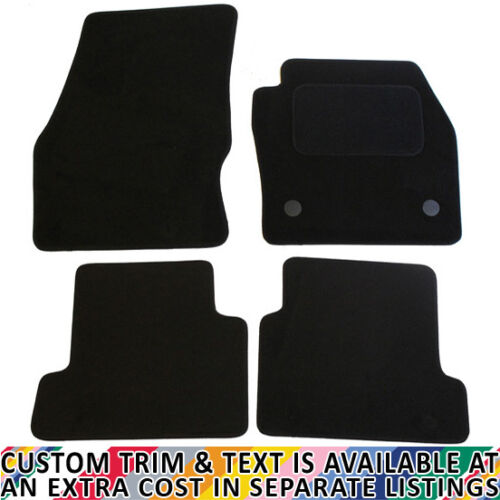 For Ford Kuga MK2 2013-2018 Fully Tailored 4 Piece Black Car Mat Set