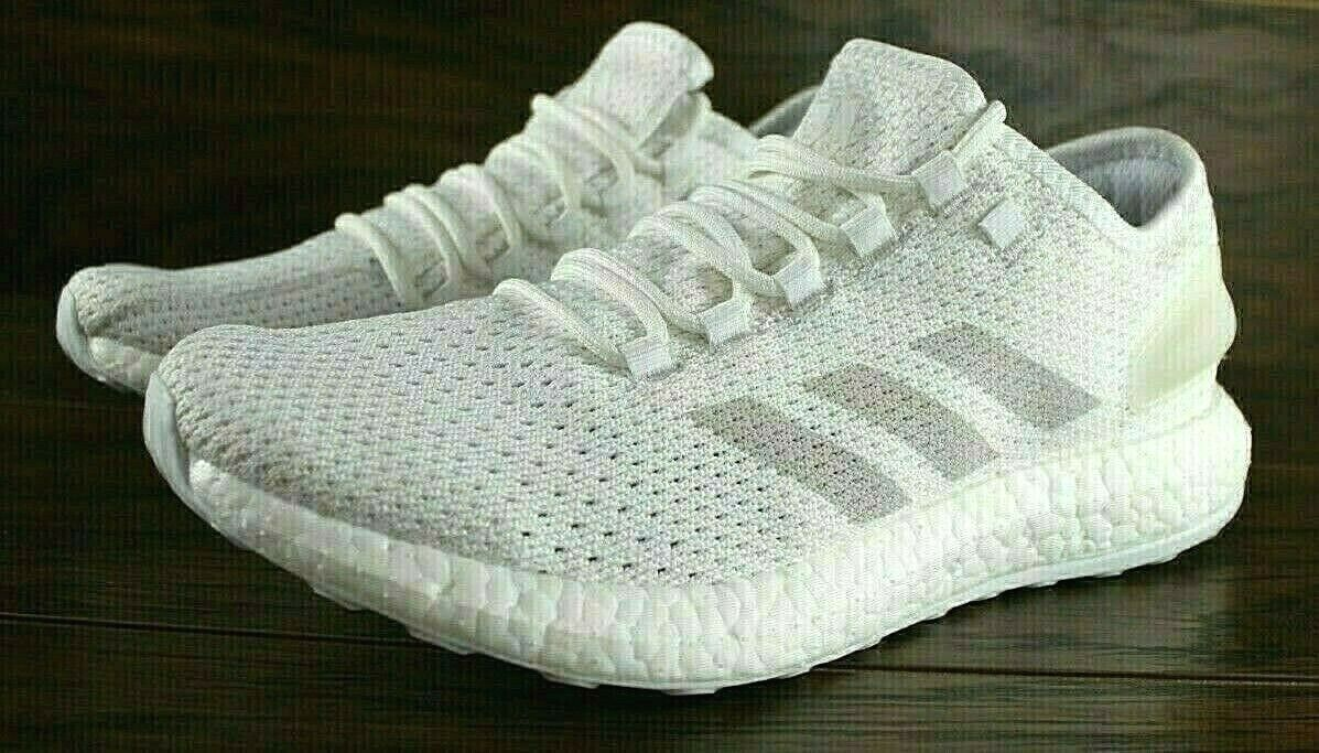 ADIDAS PURE BOOST CLIMA RUNNING SHOES WHITE BY8897 PUREBOOST NEW MENS
