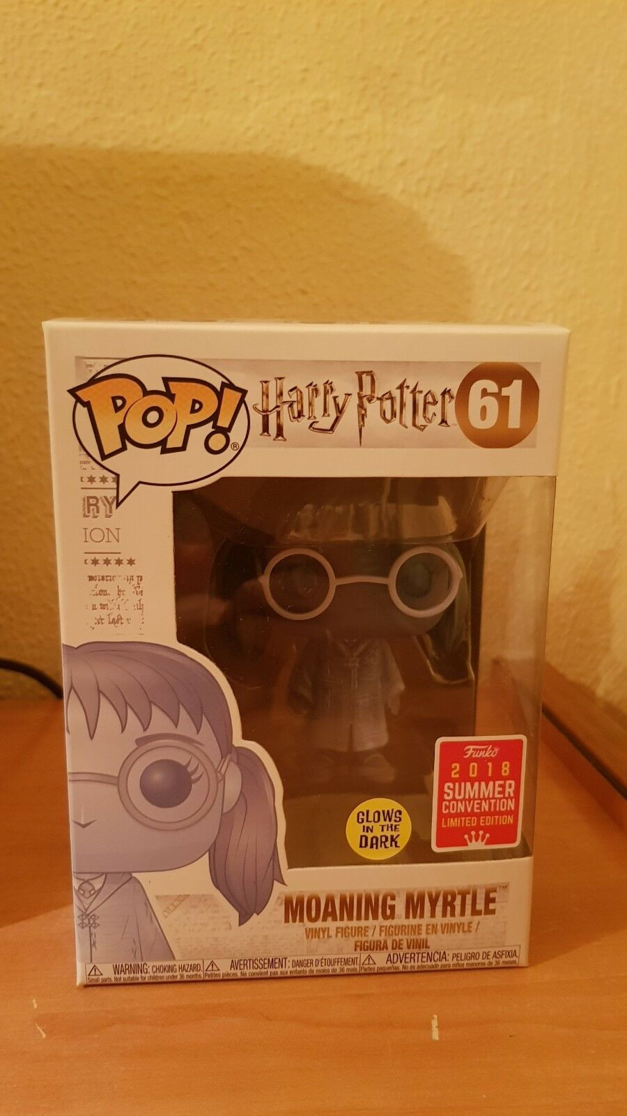 Harry potter pop-its myrtle summer Convention 2018 EX