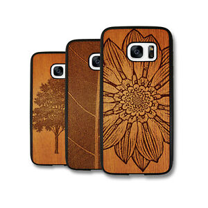 PIN-1-Art-Wood-Art-Painting-Design-Deluxe-Phone-Case-Cover-Skin-for-Samsung
