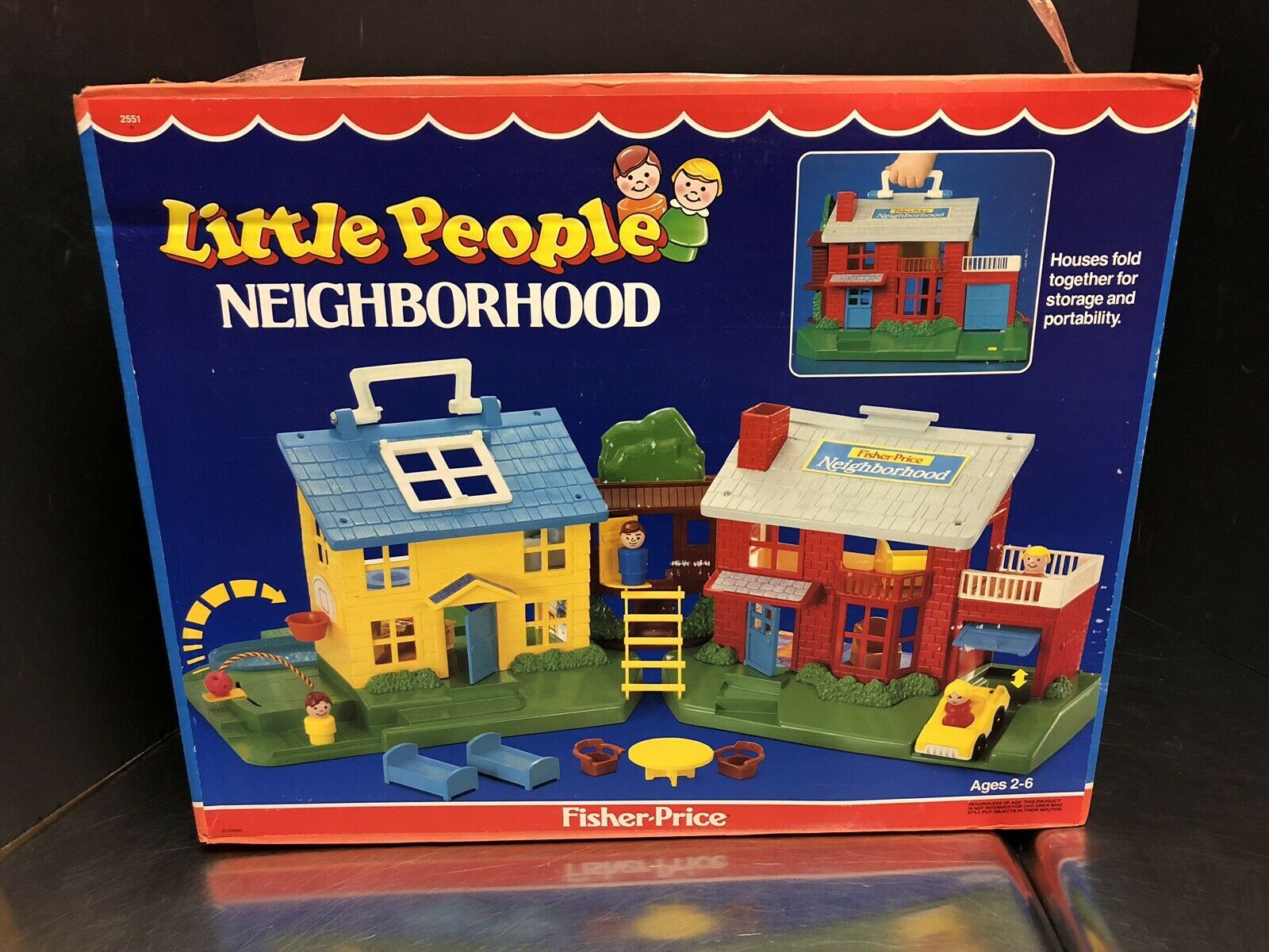 1989  Fisher Price Little persone Neighborhood With scatola completare Unused Dela0165  scegli il tuo preferito