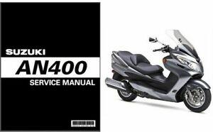 2007-2012-Suzuki-Burgman-Skywave-400-AN400-Scooter-Service-Manual-on-a-CD