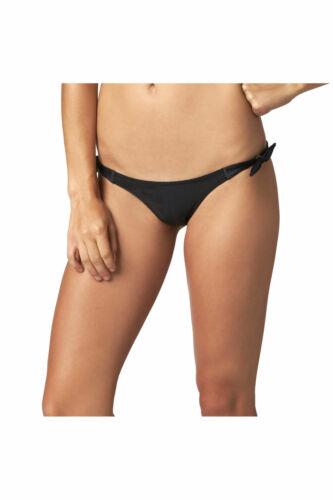 Fox Racing Splash Womens Side Tie Bikini Bottom Black