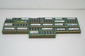 Lot-of-65-1GB-DDR-Various-Speed-Desktop-Memory-RAM