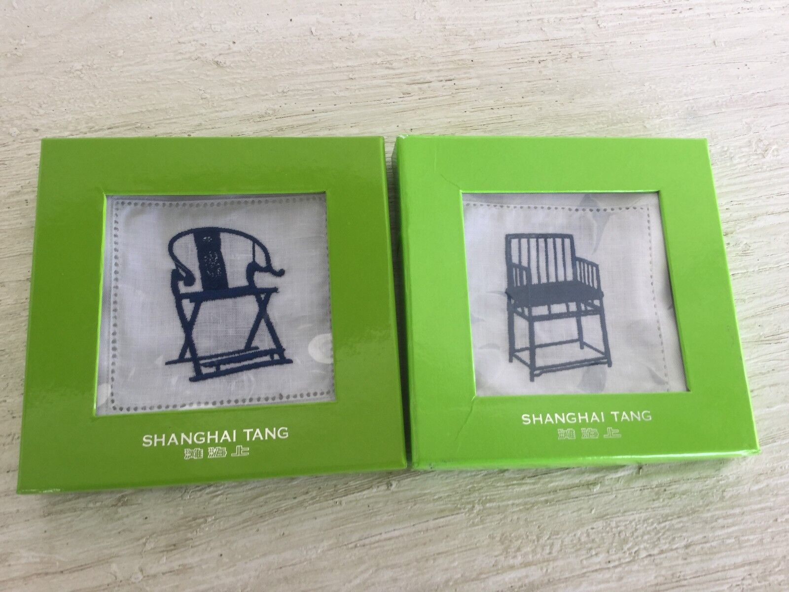 Nouveau SHANGHAI TANG lin Coasters