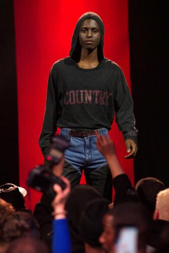 Telfar country shirt FW19 cotton pullover hoodie u