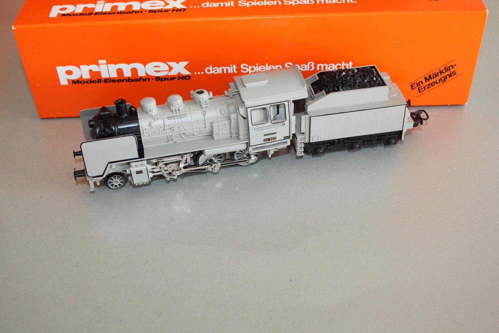 Märklin Primex 30031 Dampflok Baureihe 24 grey Spur H0 OVP