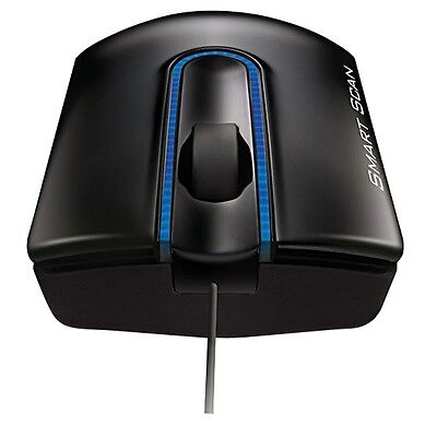 LG LSM-100 Smart Scan USB 1200 dpi Laser Mouse Scanner Just Drag an Share