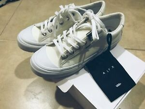 7dd4f2678b VANS ALYX Style 29 LX White Sneakers New VN0A3DPAOK9 Size 6.5 100 ...