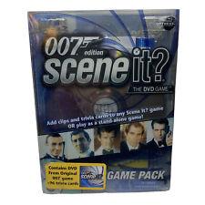 GOOD CONDITION 1 SCENE IT 007,JAMES BOND BOARD GAME,COMPLETE