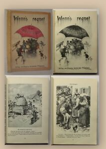 Wenn-039-s-regnet-in-der-Sommerfrische-1920-Belletristik-Unterhaltungsliteratur-xy
