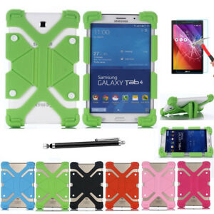 best loved db013 04e8d Details about Universal Soft Silicone Shockproof Stand Rubber Case Skin For  ASUS ZenPad Tablet