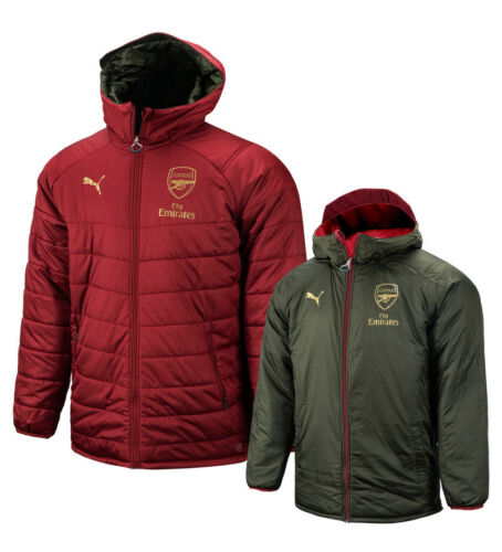 Training Padded Warm Jacket Top 75323807 Puma Arsenal Reversible Bench Jacket