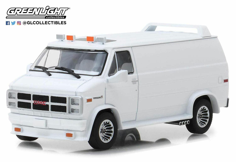 Grünlight GMC Vandura Custom 1983 Weiß 1 43 Maßstab Modell 86326
