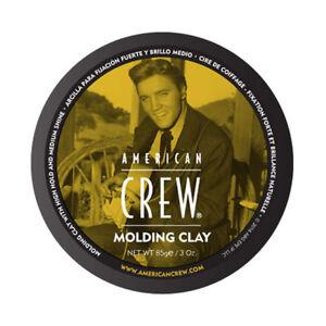 American-Crew-Molding-Clay-Cera-Tenuta-Forte-Media-Brillantezza-da-85-g