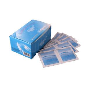 100Pcs Gel Polish Remover UV Soak Off AcetoneRemoval Wraps Nail Art Cleaner  AC