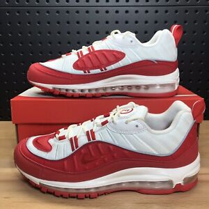 "Details about Nike Air Max 98 ""University Red"" Running Shoes 640744 602 Men's Size 10"