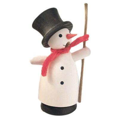 Incense Smoker Mini Snowman Christmas Tree German Smoker Made in Germany