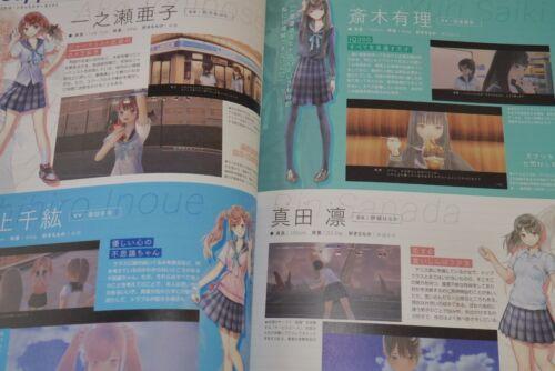 JAPAN Mel Kishida Blue Reflection Player/'s Navigator Not With Product Code
