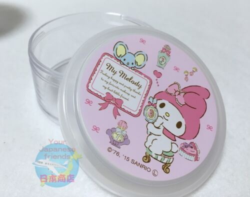 NEW SANRIO My Melody KAWAII Cylindrical Case with Lid SINGLE ITEM JAPAN