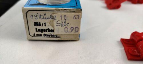 original Vintage Zubehör Graupner 356//1 Lagerbock einfach für 4mm Stevenrohr