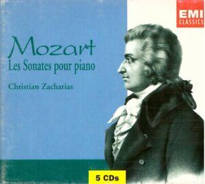 Mozart: Sonate Für Klavier Komplette / Christian Zacharias - CD