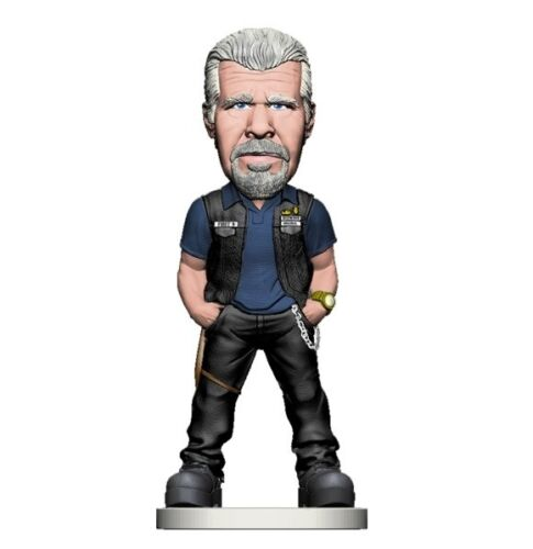 environ 15.24 cm Clay Morrow Bobblehead//FIGURE by MEZCO TOYS Ron Perlman Sons of Anarchy 6 in