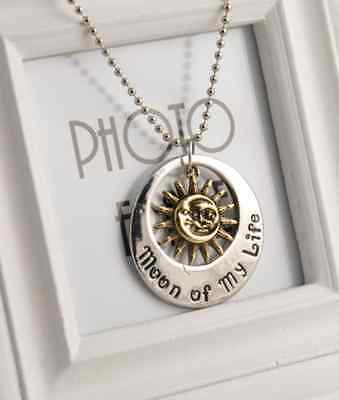 "Fashion ""Game of Thrones"" Khal & Khaleesi Moon of My Life Pendants Necklace"