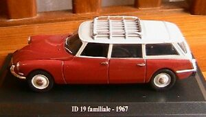ID 19 break RTF 1963 journal parlé DS2E voiture 1//43 atlas traction NOREV
