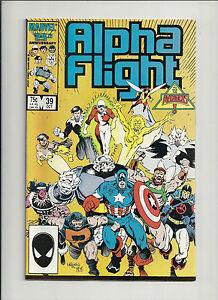 Alpha Flight #39 NM-