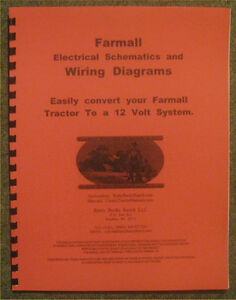 image is loading farmall-12-volt-conversion-wiring -diagrams-schematics-a-b-h-m-