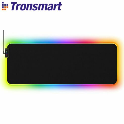 Tronsmart Spire Gaming Large Mouse Pad Computer Gamers RGB Waterproof Non-slip