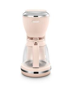 De'Longhi ICMX210.PK Argento Flora CFilter Coffee Maker in Pink - Brand New