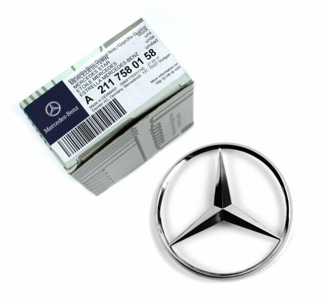Mercedes-Benz Stern Emblem Heckklappe Kofferraum E-Klasse S211 T-Modell Kombi