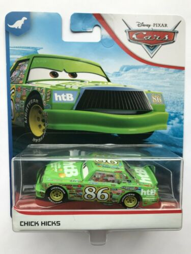 Disney Pixar Cars  CHICK HICKS   Very Rare Over 100 Cars Listed  !!