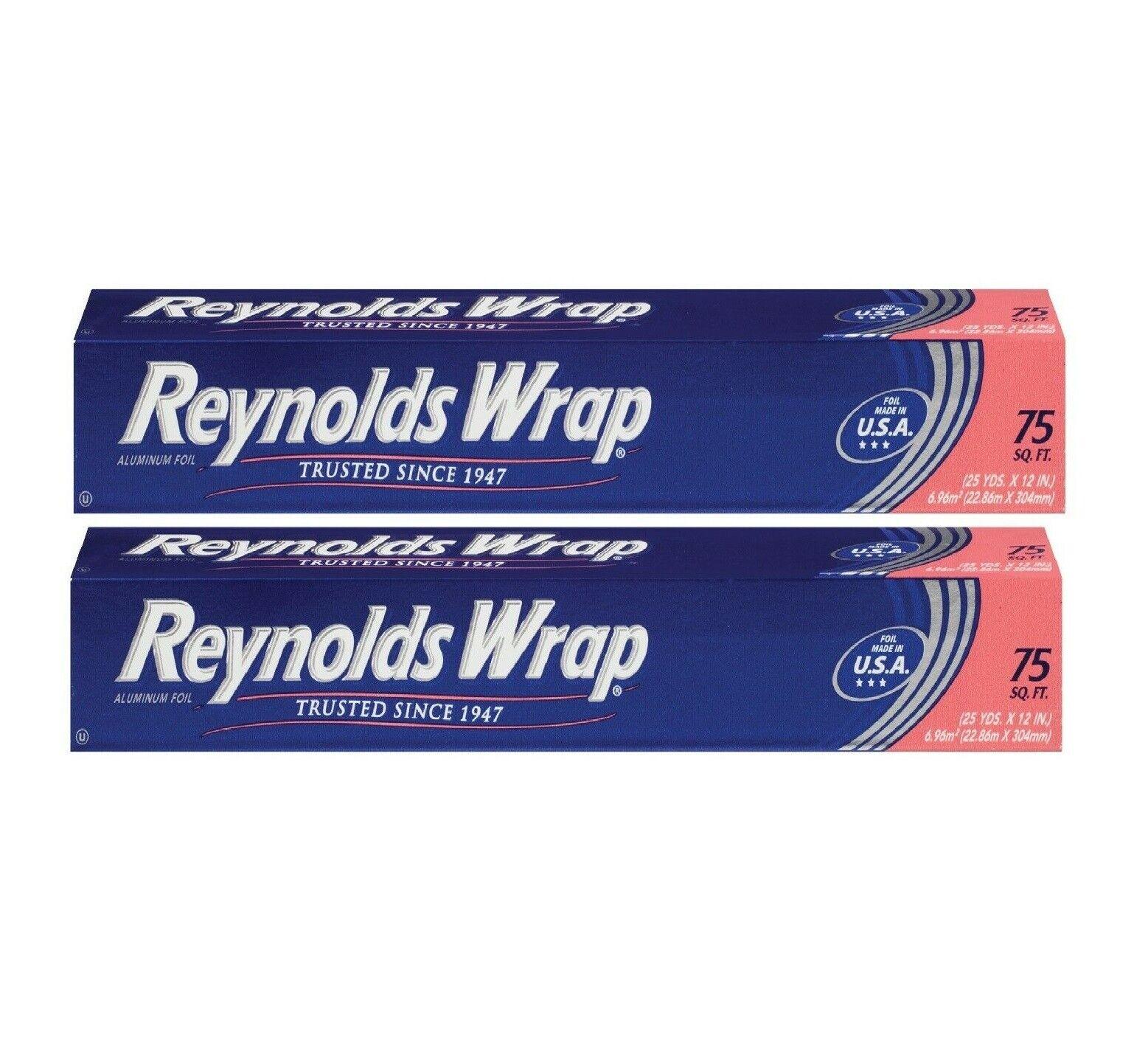 Reynolds Wrap Standard Aluminum Foil 200 Square Feet