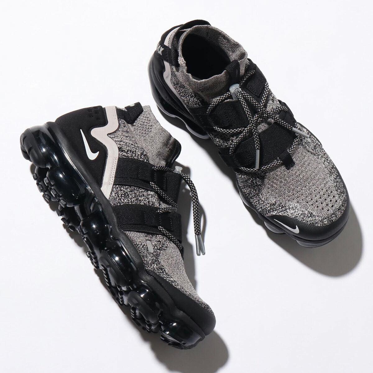 Nike Vapormax Utility Sneakers New Moon Particle Black White Oreo Ah6834-201