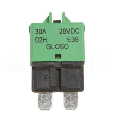 5-30A Manual Reset Circuit Breaker Blade ATC Fuse For Car Auto Boat Marine Truck