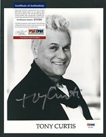 """Tony Curtis signed 8""""x10"""" photograph PSA authenticated"""
