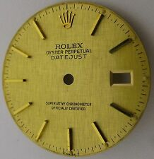 Rolex Datejust gilt linen Dial watch parts fit cal. 3035 & 3135 diameter 27.9 mm