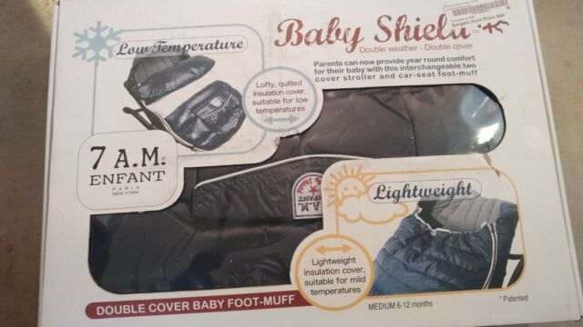 Marron Glace 7AM Enfant Baby Shield Extendable Baby Bunting Bag Adaptable for Strollers Small