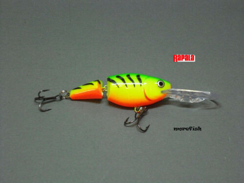 FT Rapala Wobbler Jointed Shad Rap 5cm JSR05 Firetiger