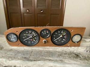 78-79-80-81-82-FIAT-Spyder-Convertible-Speedometer-Instrument-Cluster-OEM