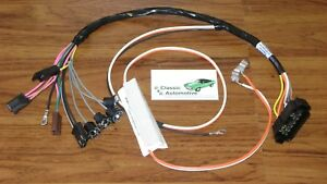 console wiring harness made in usa 68 69 camaro manual transmission chevy wiring harness image is loading console wiring harness made in usa 68 69