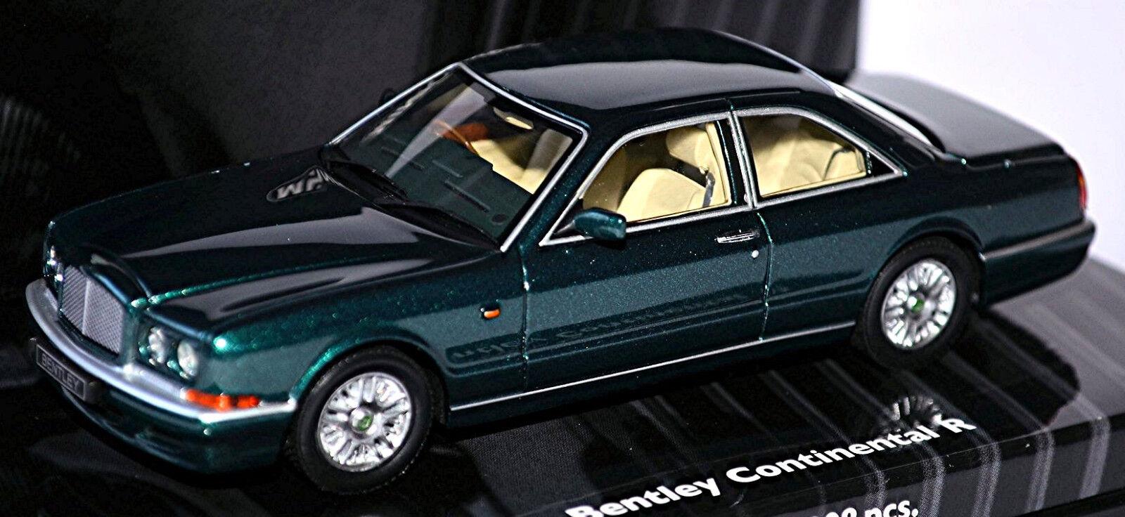 la mejor selección de Bentley Continental R 1991-2002 verde verde verde Metálico 1 43 minichamps Edición Limitada  hermoso