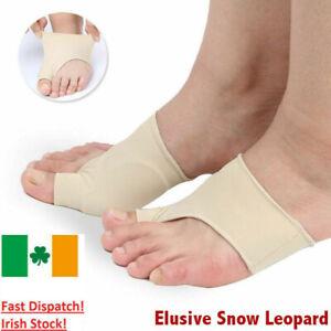 2-X-Foot-Fabric-Gel-Bunion-Pads-Protectors-Sleeves-Hallux-Valgus-Corrector-Pad